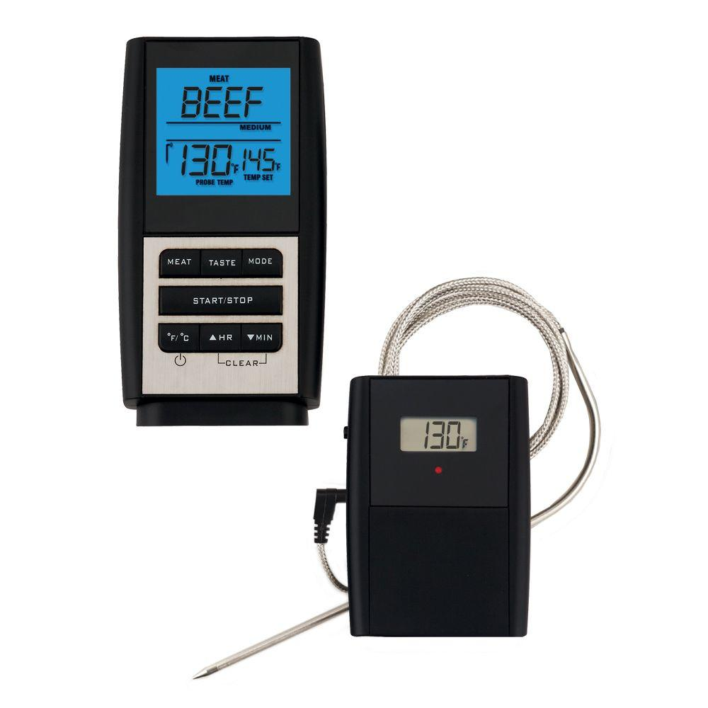 wireless meat thermometer for smoker